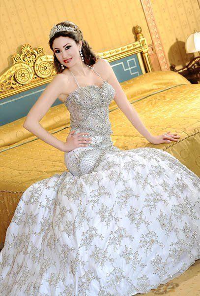 Italian Mermaid Style Wedding Gown