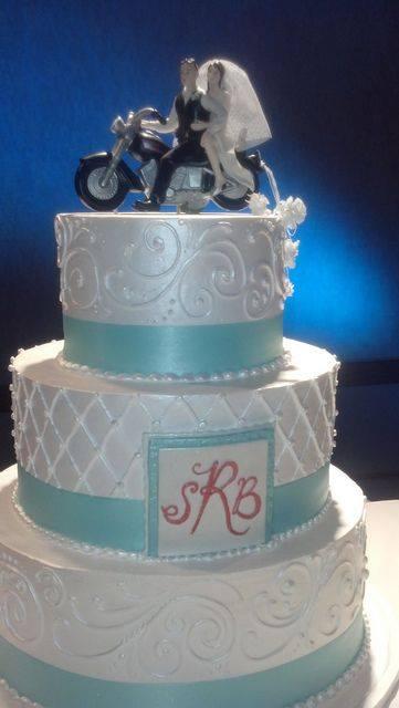 Motorcycle Wedding Cake
