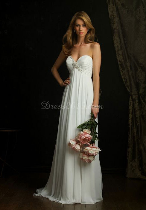Chiffon Wedding Dress