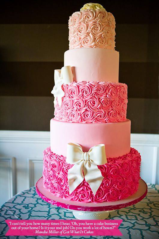 Pink Birthday Cake Pretty